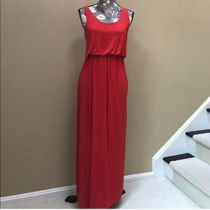 Lush long sleeveless dress